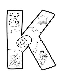 abecedario ilustrado rompecabezas del abecedario