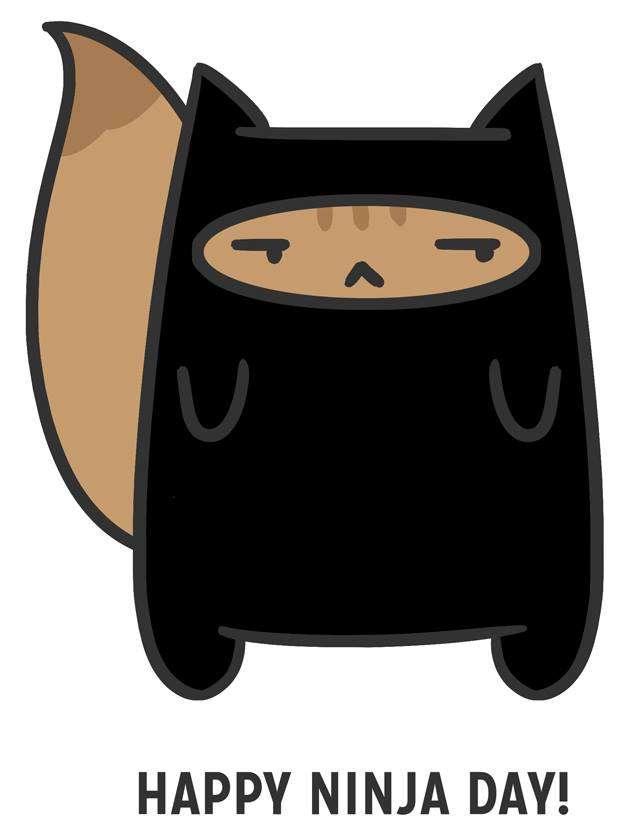 International Ninja Day Wishes Unique Image