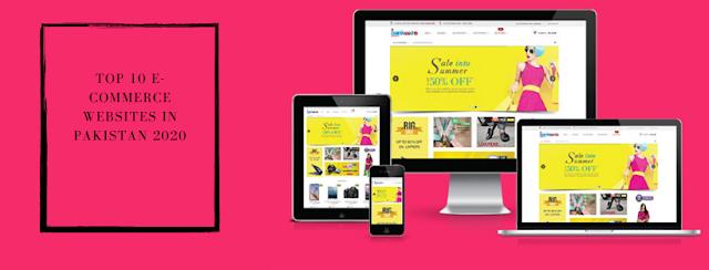e-commerce websites pakistan