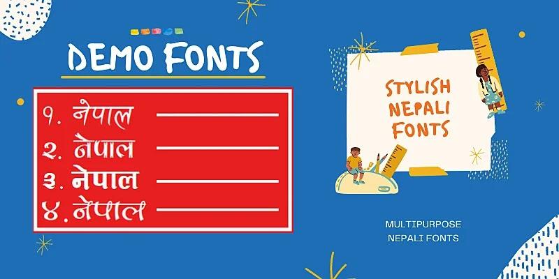 30 Stylish Nepali Fonts (Free Download) | Best Free Nepali Fonts