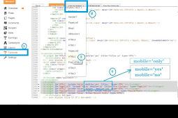 Tutorial Menampil widget di halaman tertentu dan custom Mobile