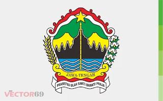 Logo Provinsi Jawa Tengah - Download Vector File CDR (CorelDraw)