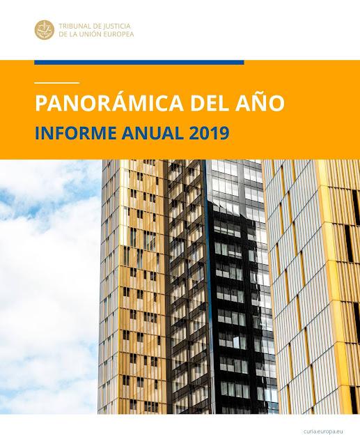 """Tribunal de Justicia de la Unión Europea: """"Panorámica del año 2019"""""""