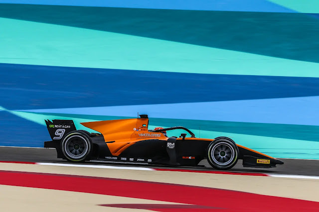 Shakir (BAH) Nov 27-29, 2020 – F2 Gulf Air Bahrain GP 2020 at Bahrain International Circuit. Jack Aitken #09 Campos Racing. © 2020 Diederik van der Laan / Dutch Photo Agency