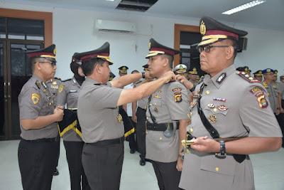 Kapolda Jambi Pimpin Upacara Sertijab 3 Kapolres Jajaran