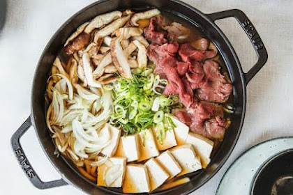 Resep Sukiyaki Sederhana Ini Recommended Banget! Dijamin Halal dan Lezat