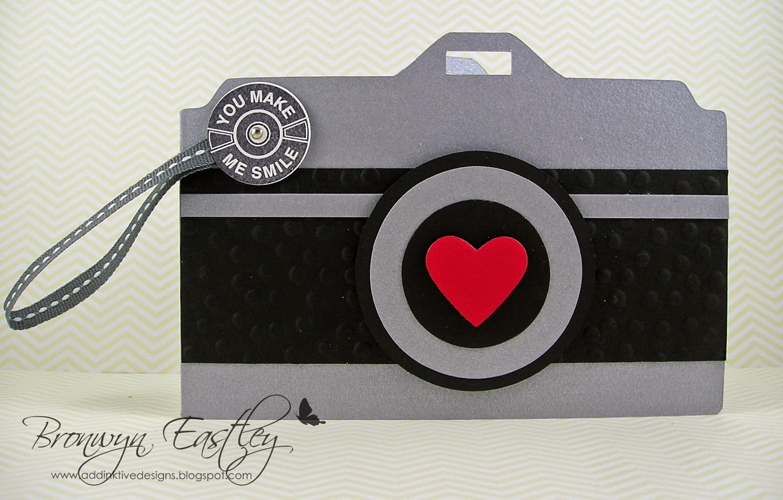 addinktive designs at blogger on film camera card