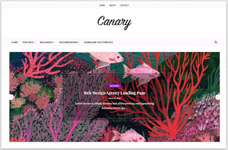 Download Canary Premium Blogger Template