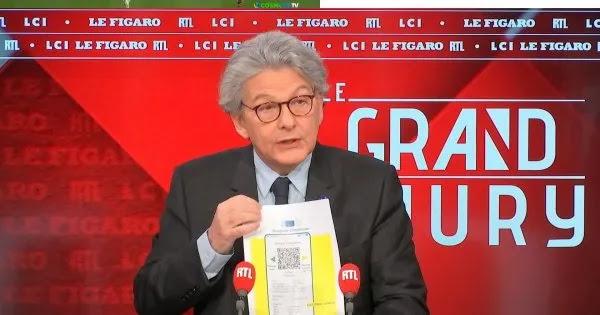 Παρουσιάστηκε και επισήμως: Αυτό είναι το ευρωπαϊκό διαβατήριο Covid - Θα έχει κώδικα QR με τα προσωπικά στοιχεία