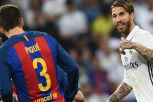 The Spain striker compares Ramos to Pique