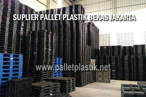 supplier pallet plastik bekas jakarta