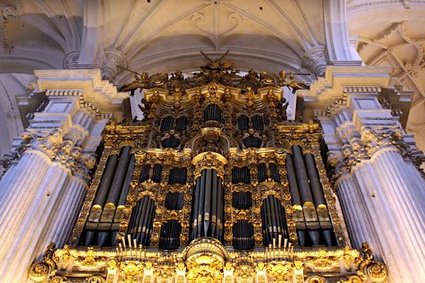 El órgano de la Catedral de Granada será restaurado