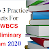 Top 3 Practice Sets For WBCS Preliminary Exam 2020
