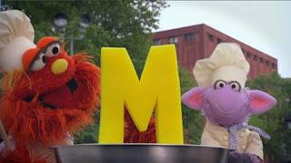 Murray and Ovejita, Alphabet Cookoff letter M, Sesame Street Episode 4415 Rosita's Abuela season 44