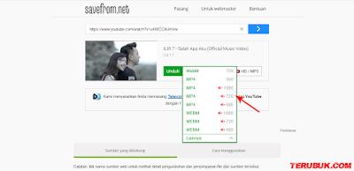 download video youtube tanpa aplikasi kualitas HD