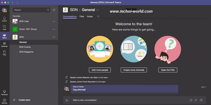 "رابط تحميل برنامج مايكروسوفت تيمز ""Microsoft Teams"" للطلاب والمعلمين"