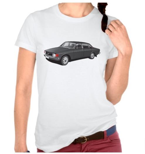 Volvo P 144 t-shirt Sweden