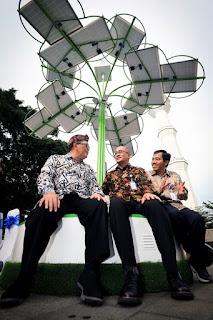 Ada Solar Tree di Alun-alun Bandung