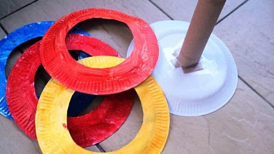 Educacion Fisica Solana Juegos Inventados Con Material Reciclado