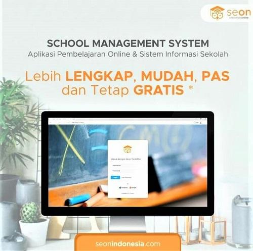 SeON  Sekolah online berbasis web