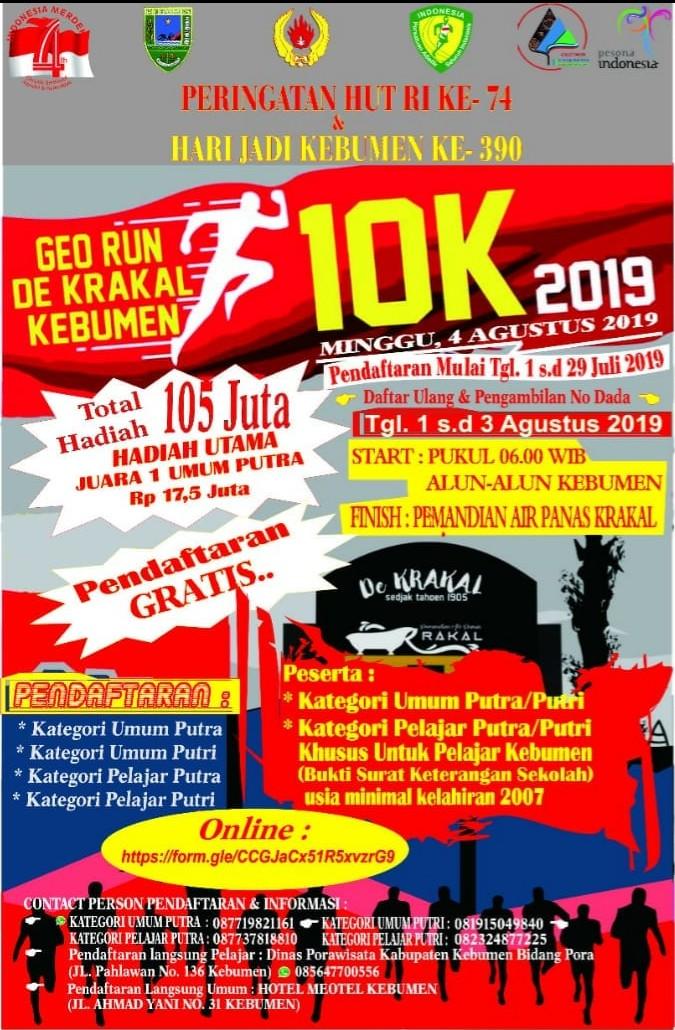 Geo Run de Krakal - Kebumen • 2019