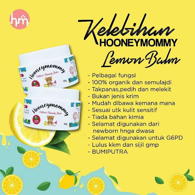 Kelebihan Honney Mommy Lemon Balm