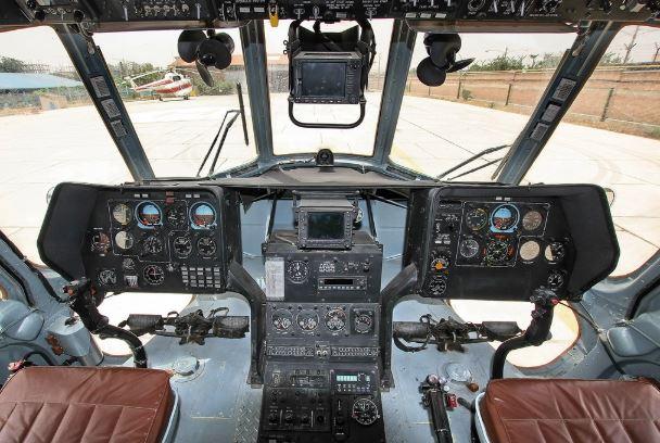 Mil Mi-171E cockpit