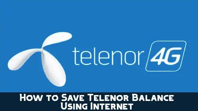 Telenor Balance Save Code 2021 | How to Save Telenor Balance
