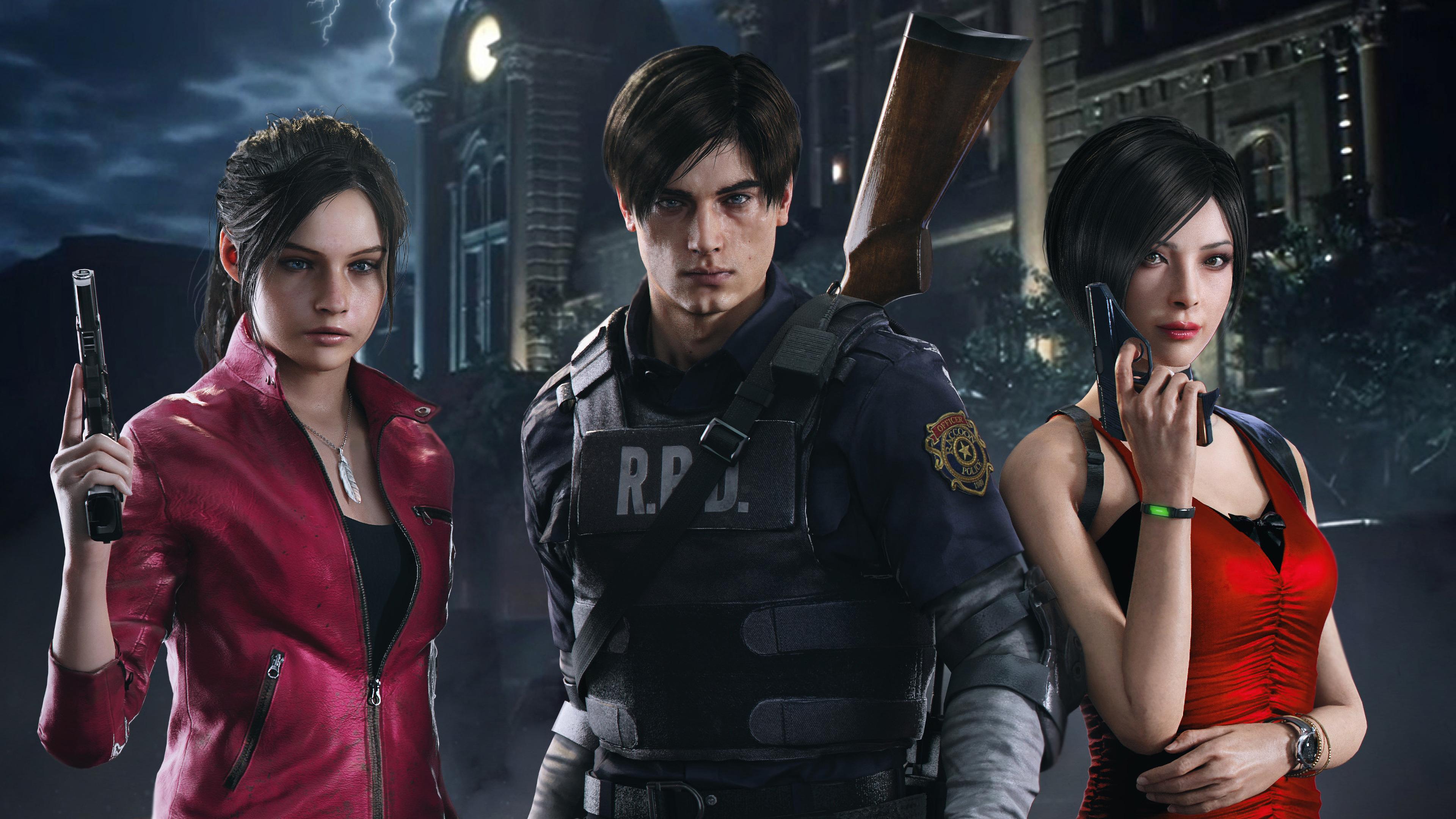 Ada Wong Resident Evil 2 4k Wallpaper 5 504