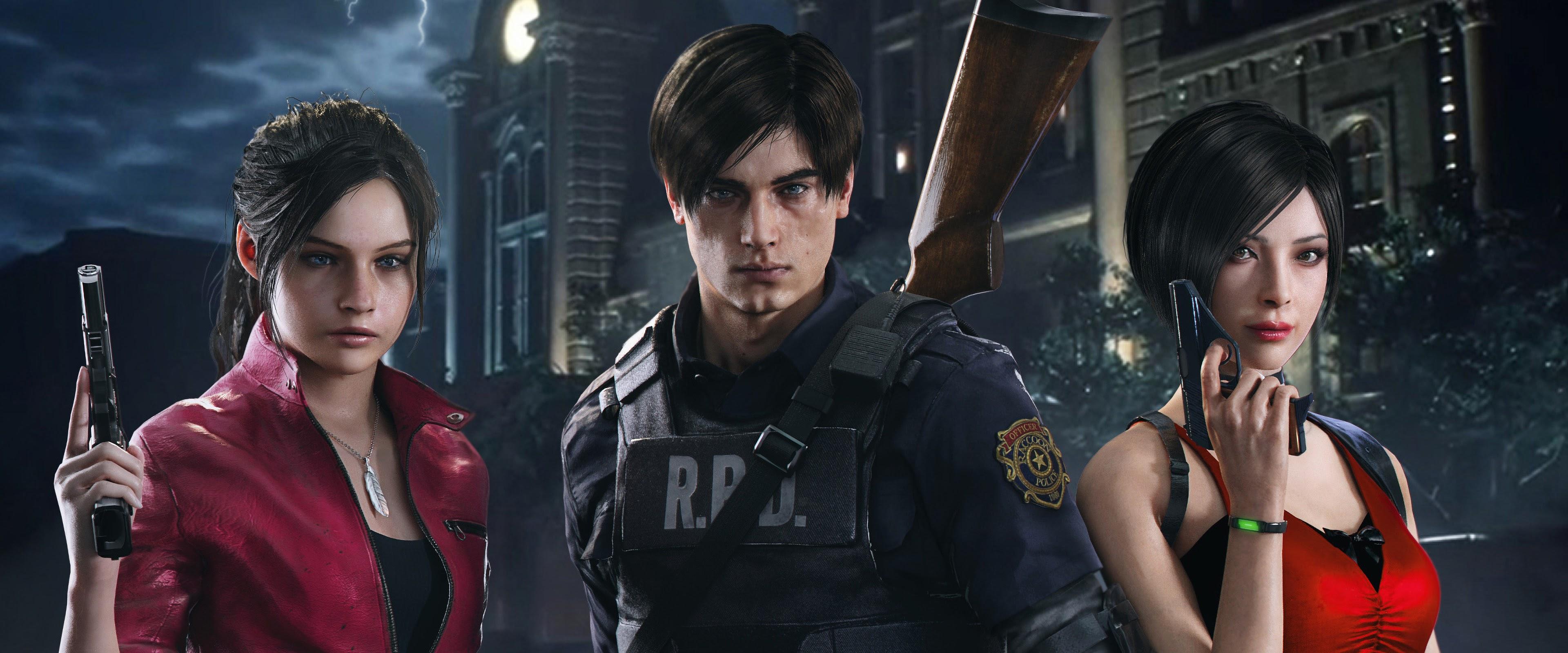 Resident Evil 2 Characters 4k Wallpaper 15