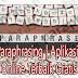 Website Paraphrasing | Aplikasi Parafrase Terbaik Gratis