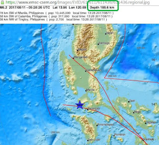 Northern Philippines hit by 6.2 magnitude earthquake