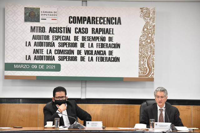 Auditor Especial de Desempeño de la ASF –separado del caso temporalmente-, Agustín Caso Raphael, se reunió con la Comisión de Vigilancia de la ASF