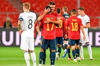 ألمانيا تتلقى هزيمة تاريخية أمام إسبانيا بسداسية نظيفة