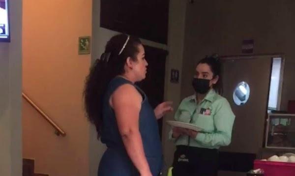 Surge #LadyComeGratis reclama que un platillo estaba crudo y se niega a pagar su cuenta y la de 17 invitados