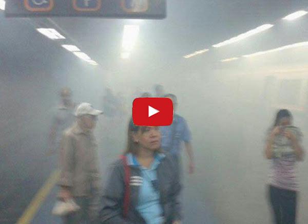 Se incendia el Metro y a nadie se le ocurre grabar un video