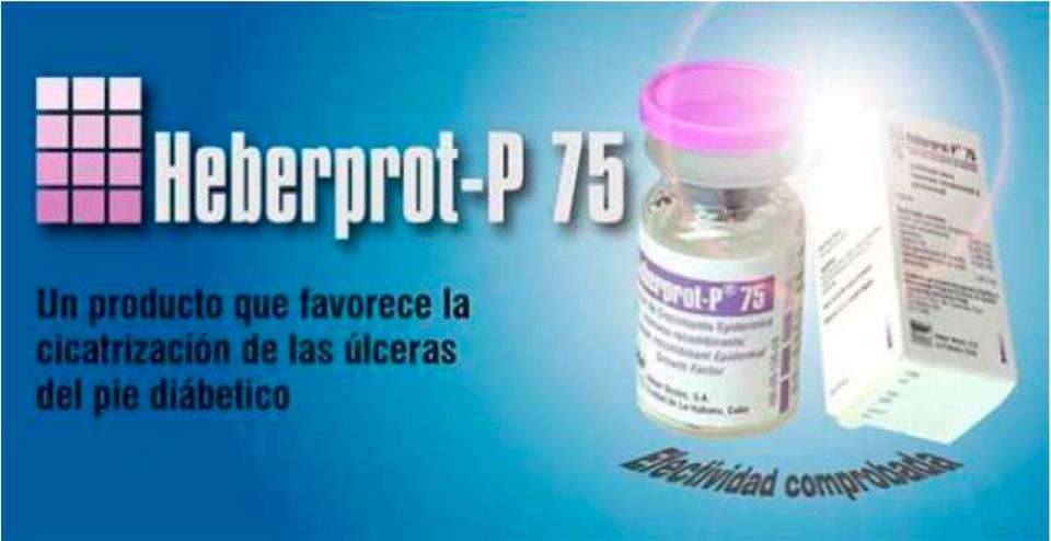 Estrella 51: Comunismo en inyecciones de Heberprot-P