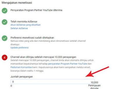 syarat daftar youtube terbaru 2017 chanel harus memiliki 10.000 view