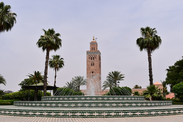 Visit the most sacred destination in Marrakesh Morocco: Koutoubia Mosque