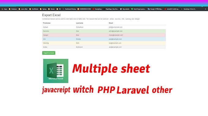 export html table to excel javascript