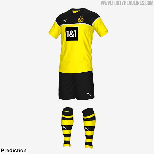 Borussia Dortmund 21 22 Home Kit 3 Possible Designs Footy Headlines