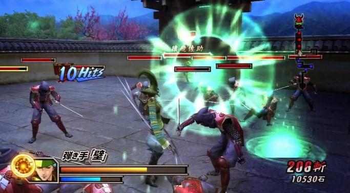 game basara 2 heroes ppsspp