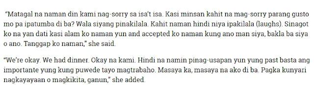 """""""Ano bang alam mo sa pagkatao ko? Naging tayo ba?"""" Ahron Villena's Response to Cacai Bautista"""