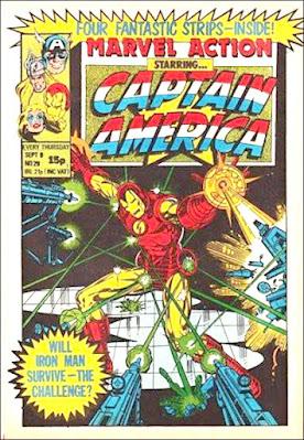 Marvel Action starring Captain America #29, Iron Man