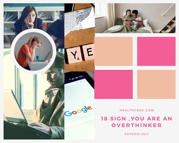 18 overthinking disorder symtoms