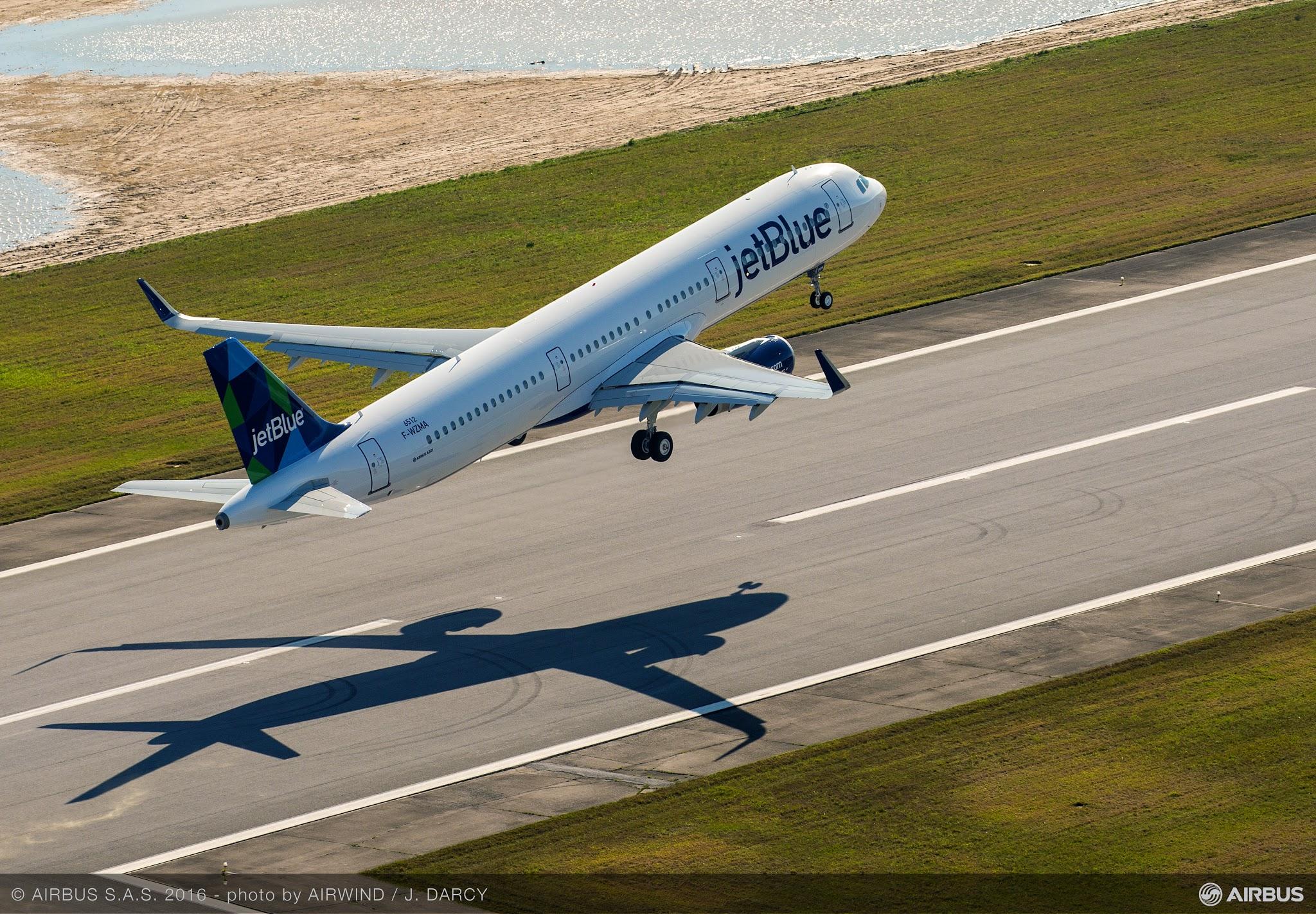 Voou o Primeiro avião da Airbus produzido nos EUA