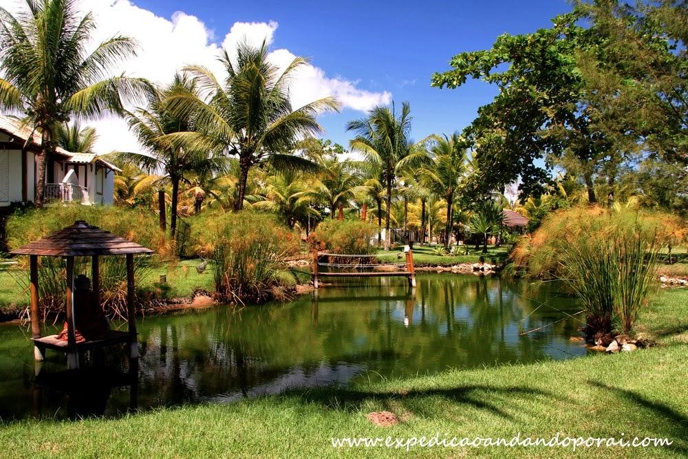 Jardim da Pousada Águazul, Barra Grande
