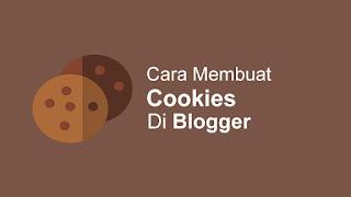 Cara Memasang Cookie Di Blog