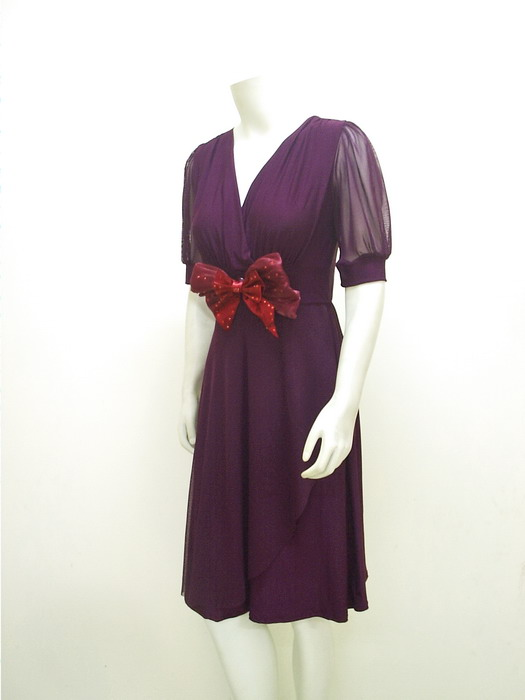 Contoh Gambar Model Baju Wanita Ribbon Chic Spandex