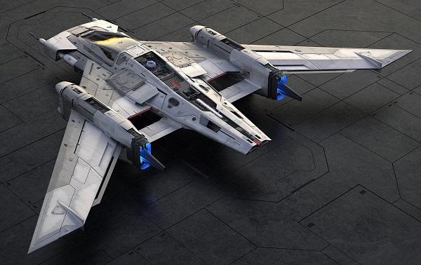 Porsche Tri-Wing S-91x Pegasus Starfighter Star Wars